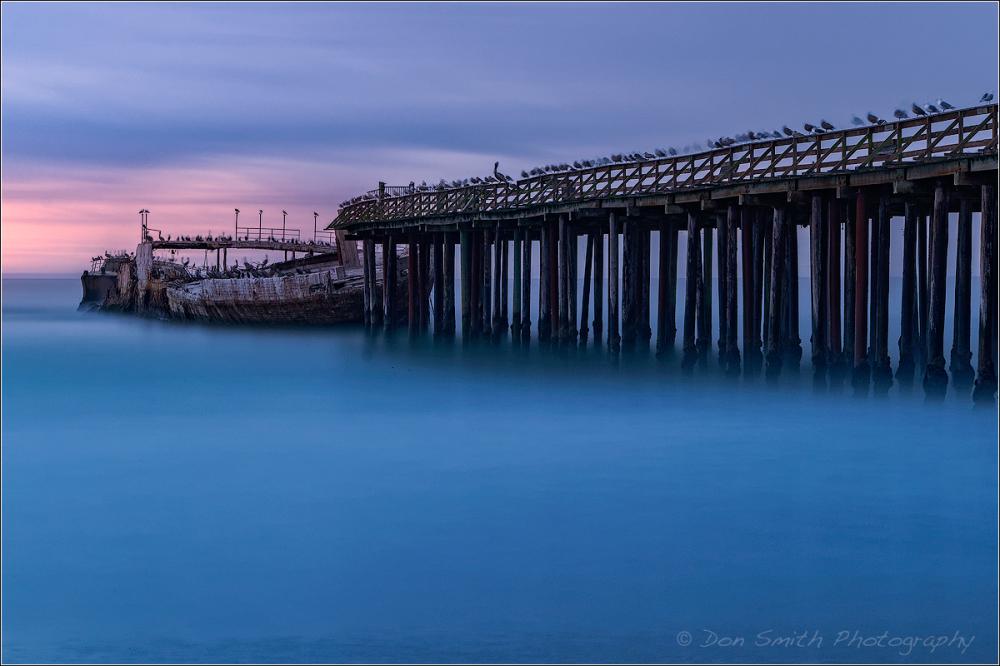 Ghost Ship, SS Palo Alto, Seacliffe State Beach