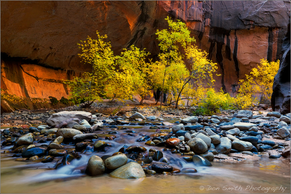 Bryce/Zion Fall Workshop With Don Smith