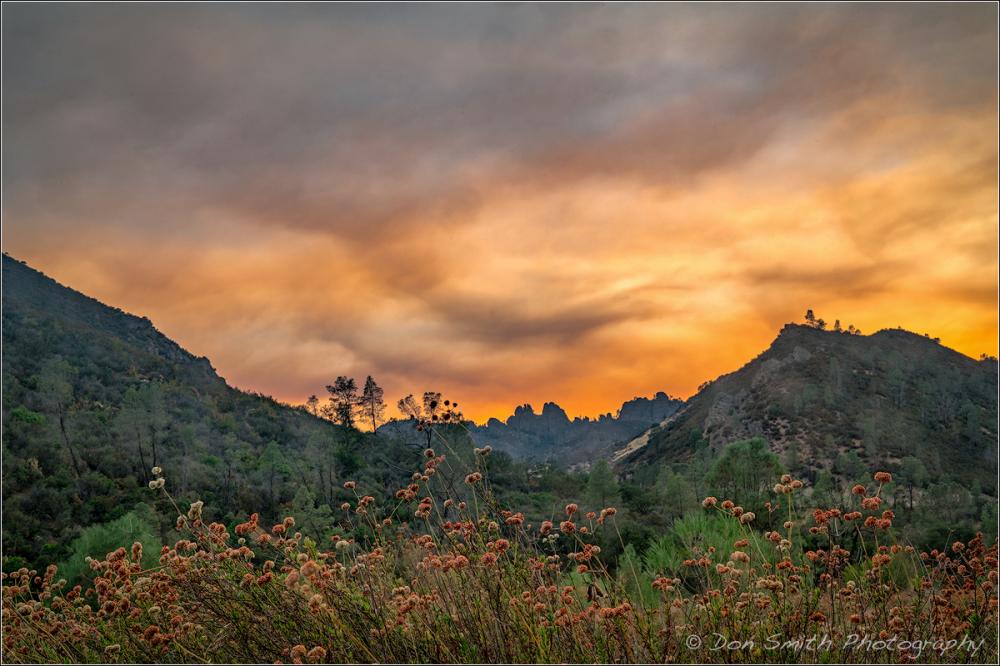 Smoky Sky Over Pinnacle National Park