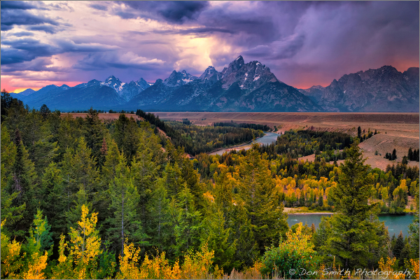 Opening for Fall in Grand Teton Workshop