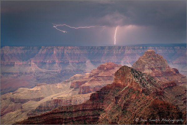 Dual Bolts at Grand Canyon National Park