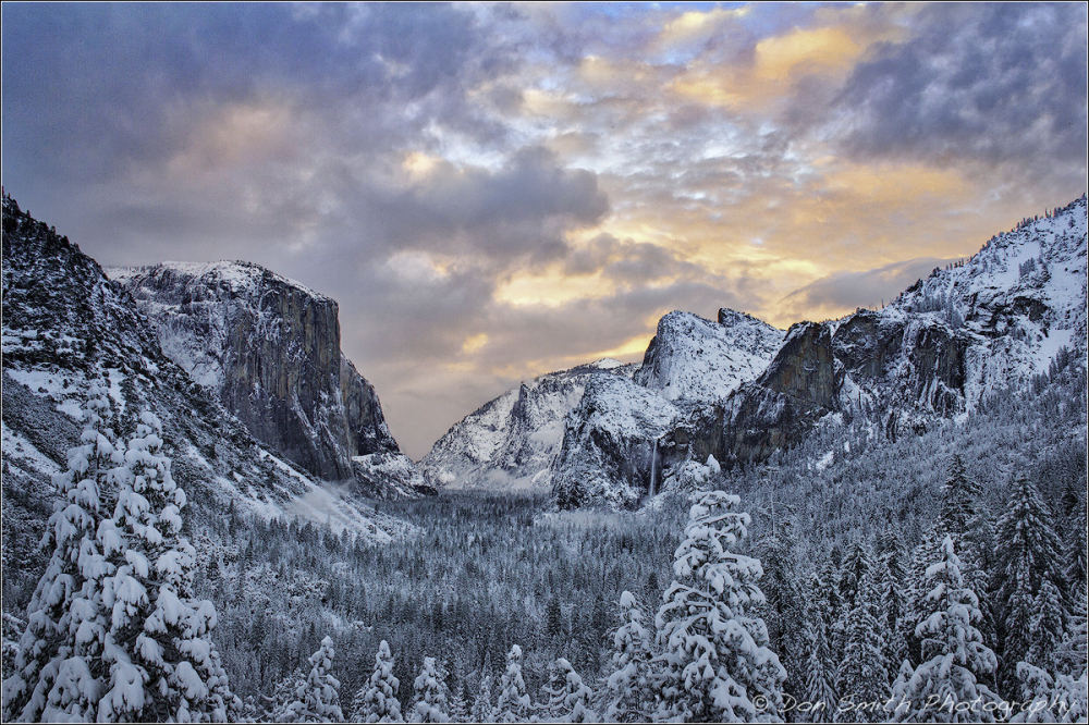 Clearing Storm, Tunnel View, Yosemite NP