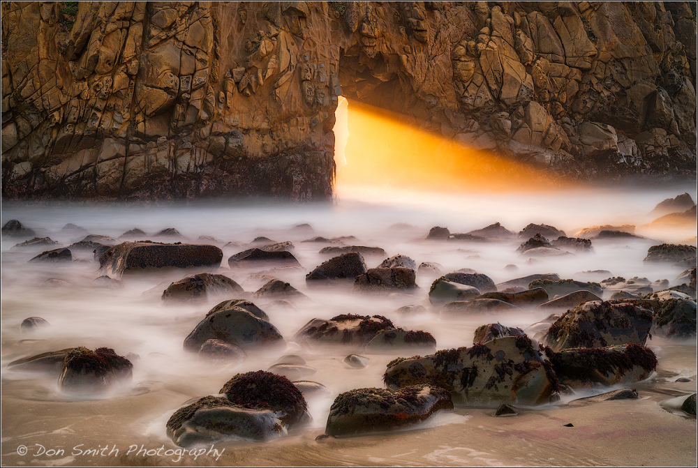 Heaven's Gate, Keyhole Arch, Big Sur Coast