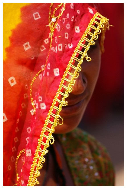 Colour, Woman, sari