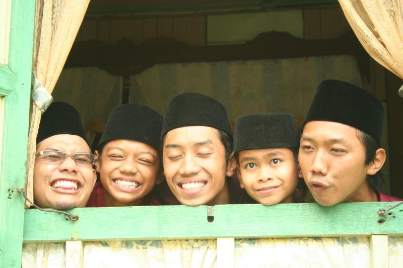 boys smile