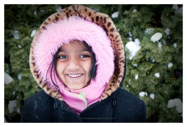 The Bundled Up Neighbors Daughter