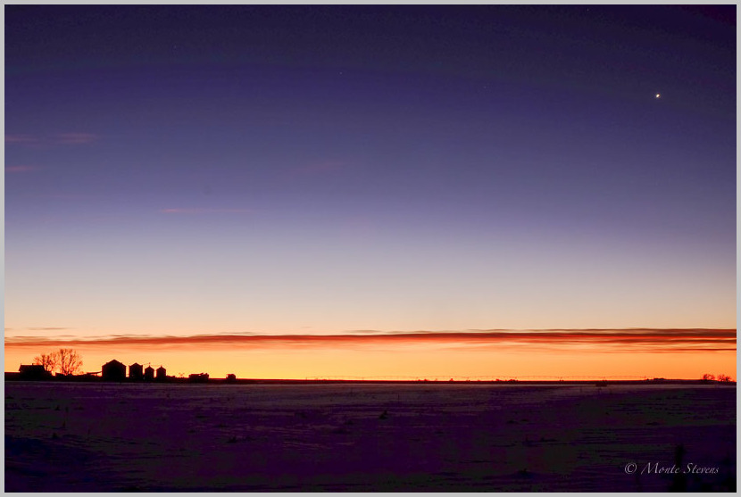 Windy Sunrise