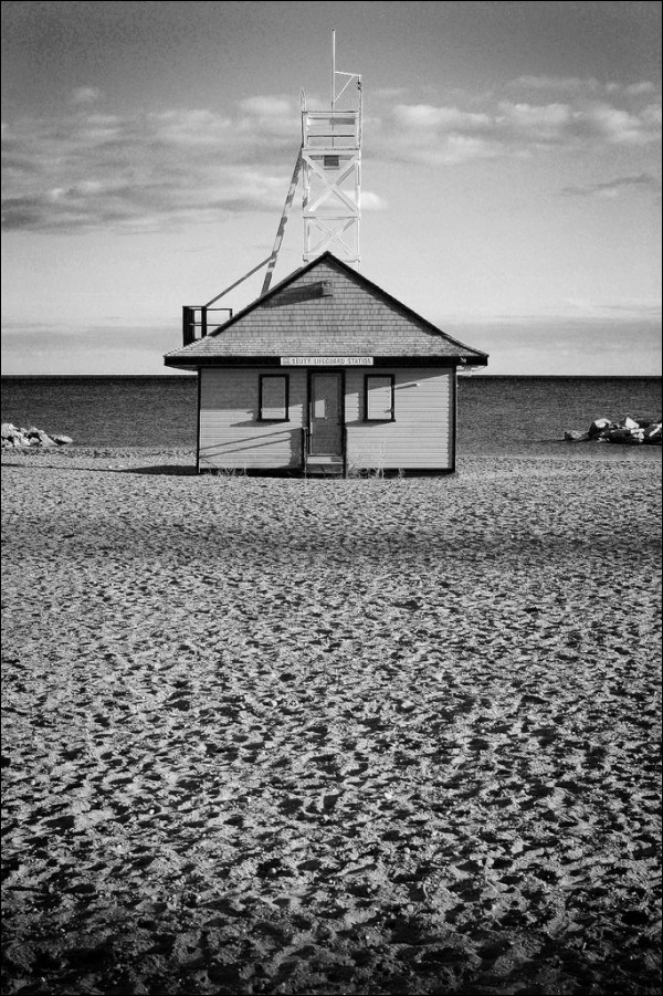 Leuty Lifeguard Station