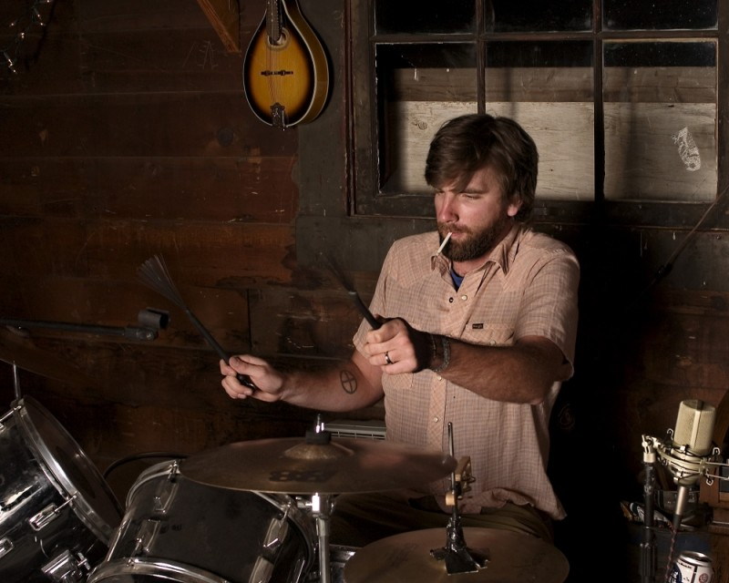Jeff on Drums