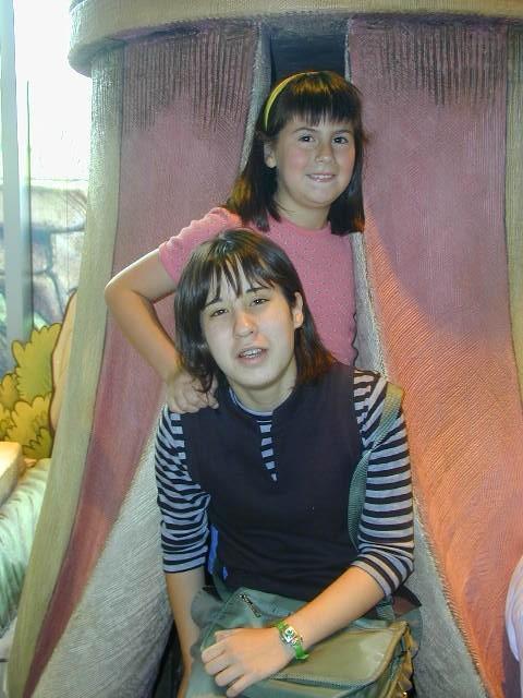 Hikari and Victoria