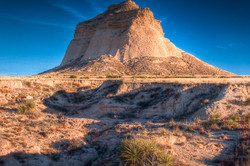 western butte in hdr