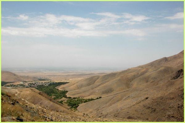 THE ALBORZ MOUNTAINS- OVERLOOKING QAZVIN