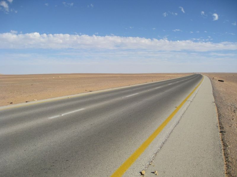 ON A DESERT ROAD-2