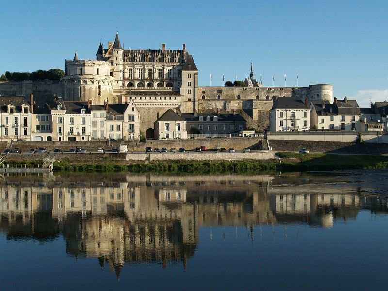 Amboise over the Loire
