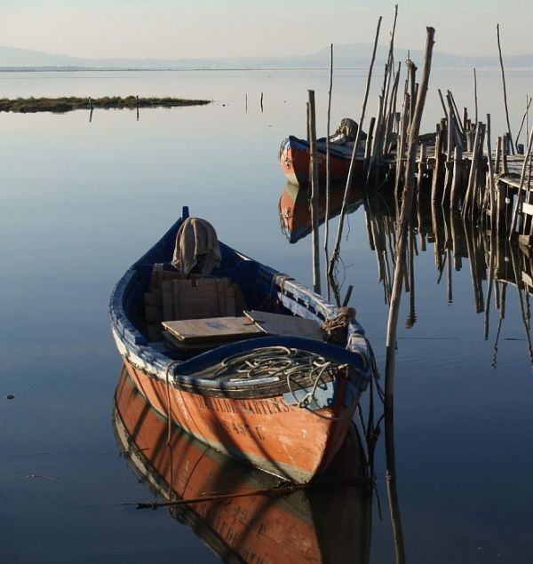 boats at Carrasqueira
