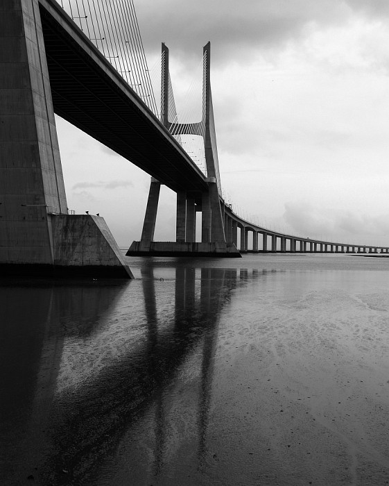 Vasco da Gama bridge.