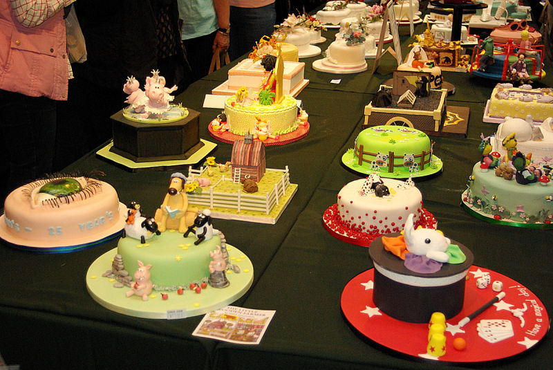 cakes from Birmingham exhibition
