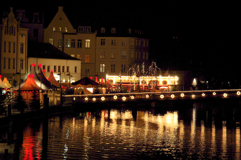 night streets of L&uuml;beck
