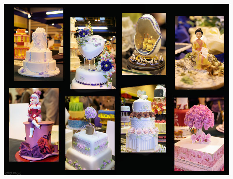 Cakes from Cake International 2010 in Birmingham