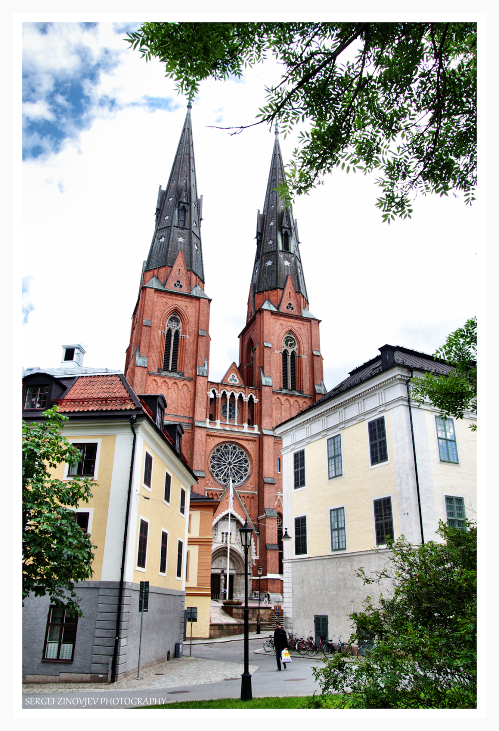 streets of Uppsala, Sweden
