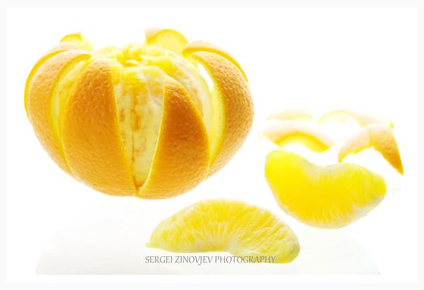 Close-up of orange