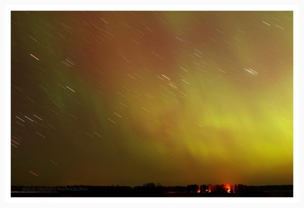 Northern Light in Estonia.