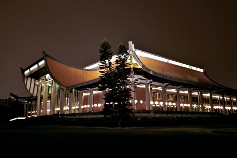 Sun yat-sen Memorial Hall, Taipei. Taiwan.