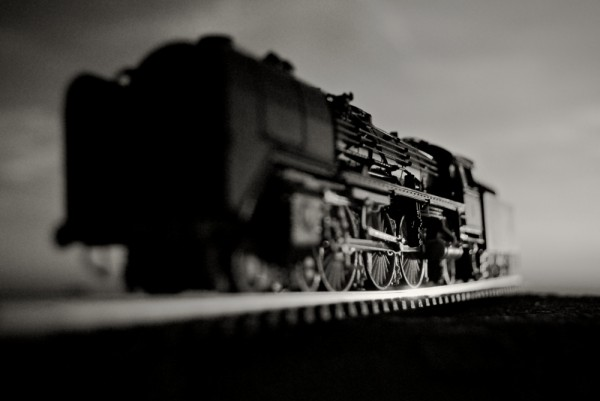 steam train miniature