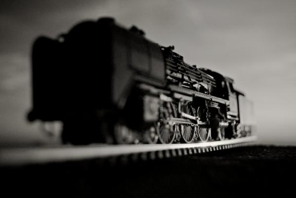 steam train miniature
