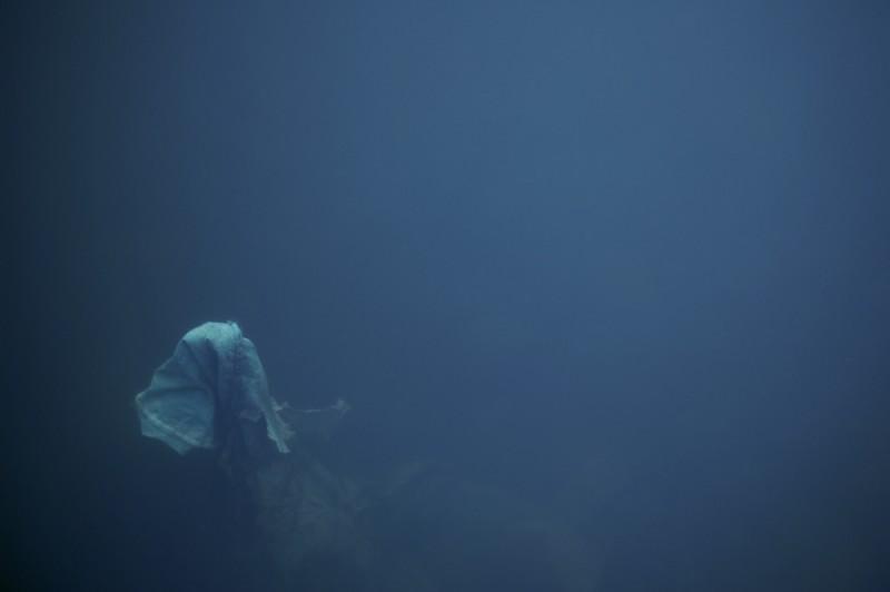 unknown object underwater