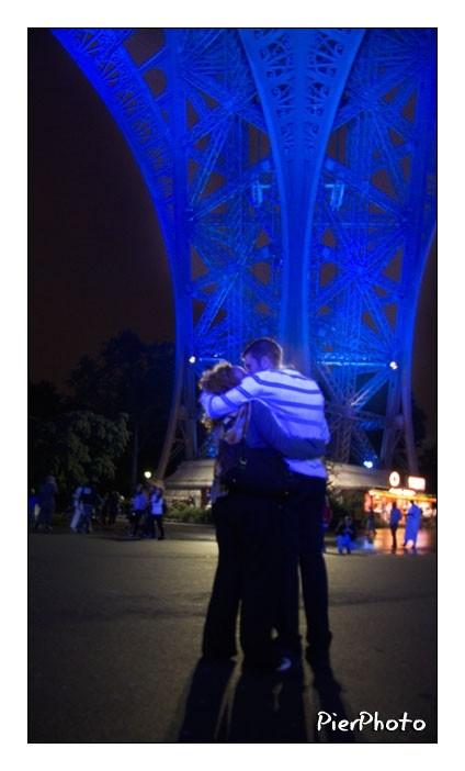 Blue kiss...
