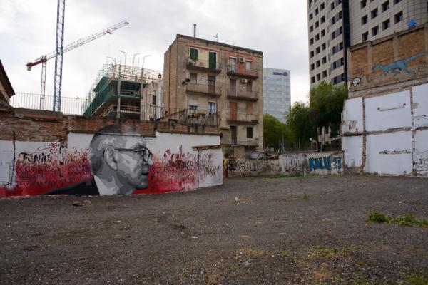 Literary graffiti (Salvador Espriu)
