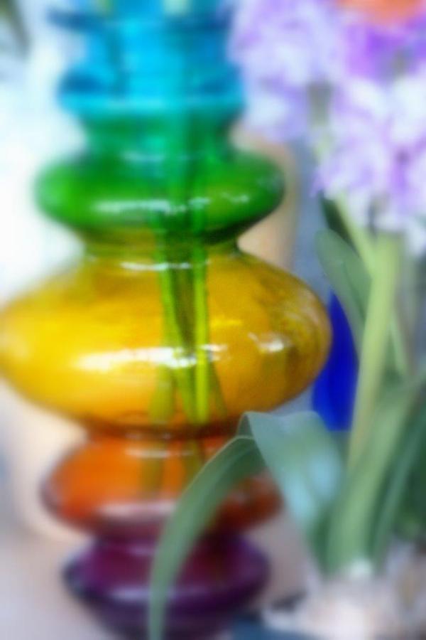 Vase multicoloré
