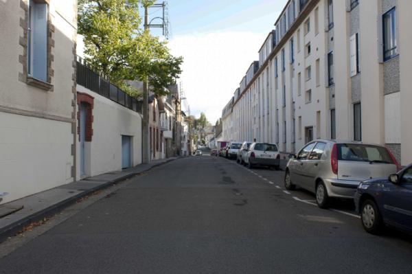 Paysage urbain, rue de Nantes