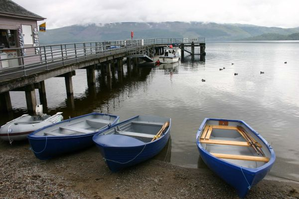 Loch Lomond boats