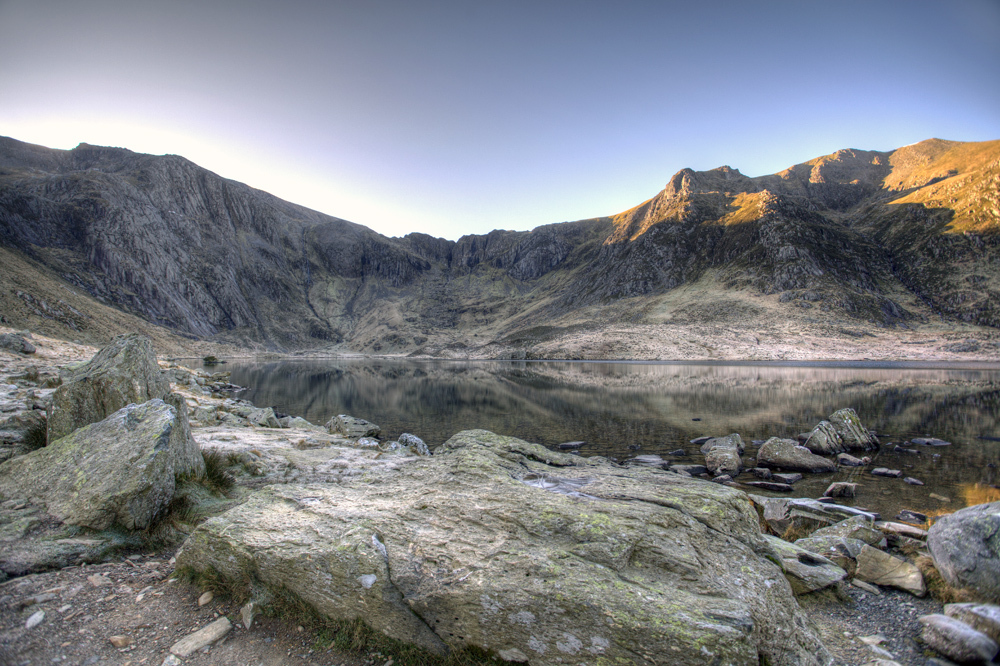 Llyn idwal and the devil's kitchen