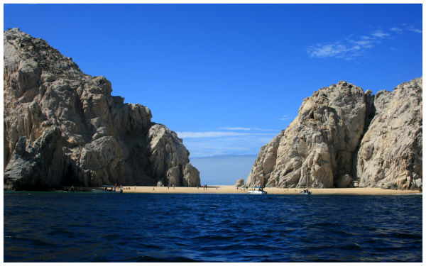 Lover Beach on the Sea of Cortez