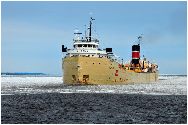 2009 Shipping season opens, Alpena first ship