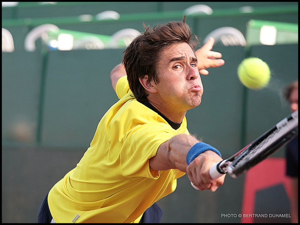 Revers fumant ! - Hot backhand !