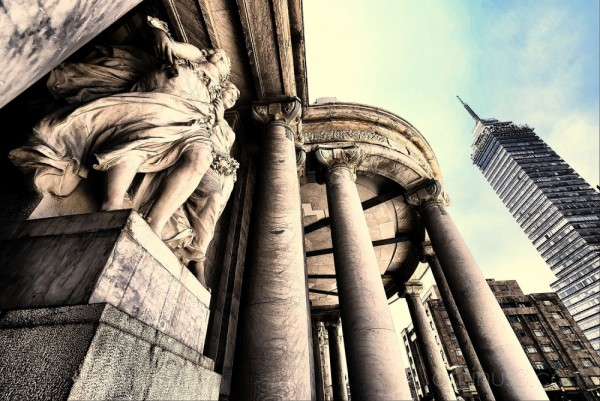 Another take on Bellas Artes.