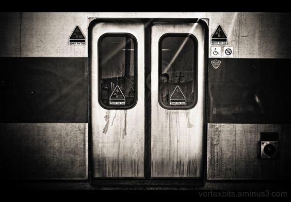 Hudson Line train at Pougkeepsie Train Station.