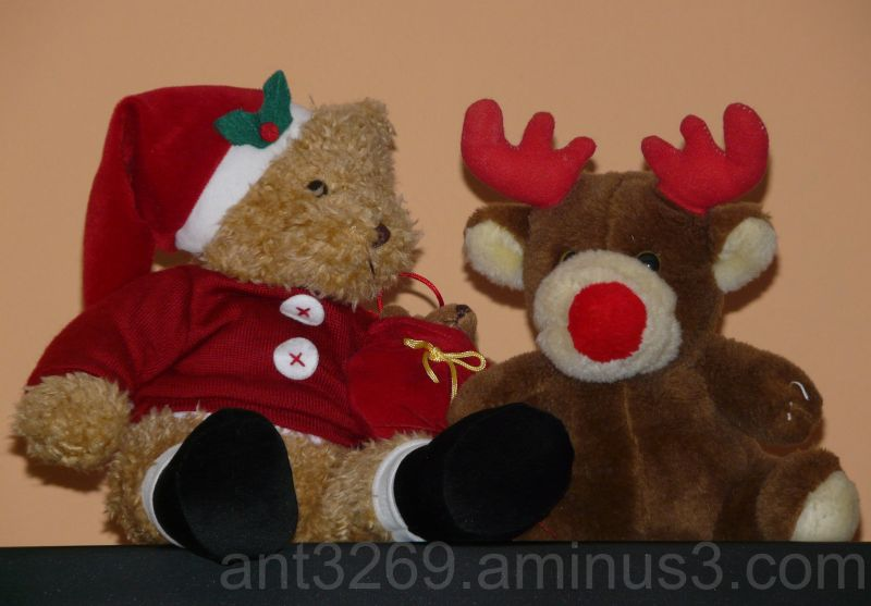 Rudolf and his mate Ted