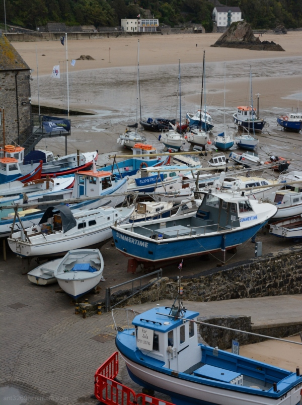 Tenby Harbour Tide´s out #4