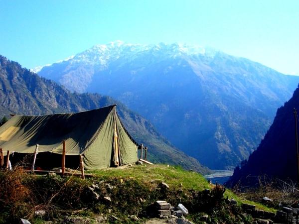 Himalayas India, Gangotri glacier, Uttarakhand