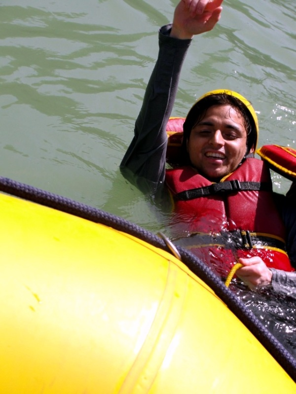 White water currents Rishikesh, rafting Rishikesh