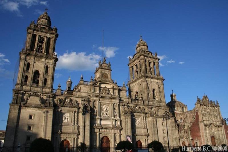 Catedral centro historico DF