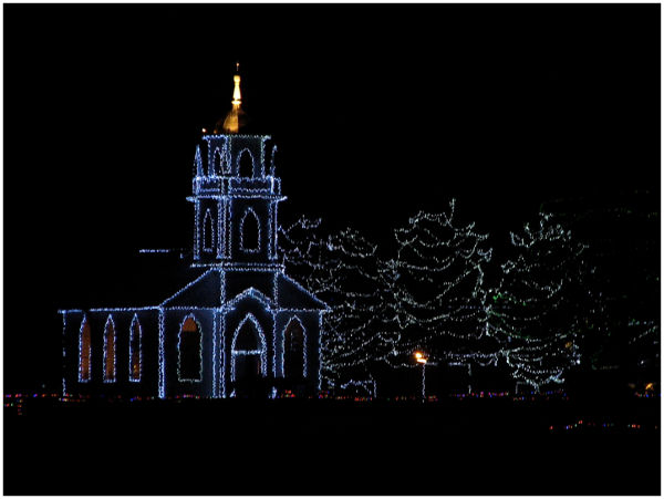 Christ Church in the Village of Lights