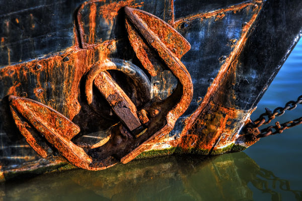 Rusty Old Anchor!