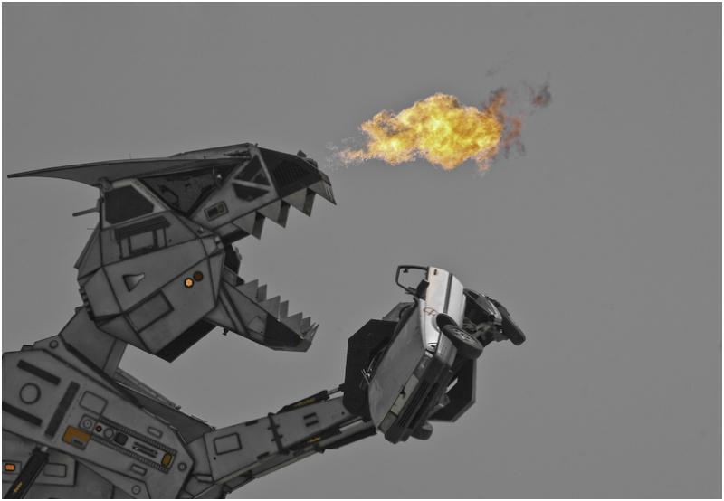Robosaurus #1