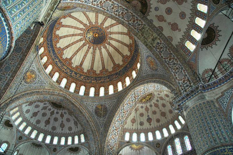 Mosquee bleue. (turkish trip).